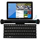 Wireless Bluetooth Keyboard, Moreslan Wireless Speakers 2-in-1 Portable Universal Foldable Keyboard Compatible For IPad, IPhone, IPod, Tablets, Android IOS Devices