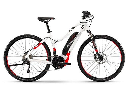 Haibike SDURO Cross 6.0 Damen E-Bike 500Wh E-Mountainbike weiß/rot/anthrazit