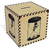 Preisvergleich für Azeeda Groß 'Sanduhr Paar' Sparbüchse / Spardose (MB00061446)