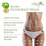 Detox Body Wrap for Weight Loss - Brazilian Silky n' Slim Volcanic Clay Organic Body Wrap Home Spa Treatment. Reduce Cellulite, Psoriases & Stretch Marks (8 Applications) will Heal You from the Inside Out. Bild 2
