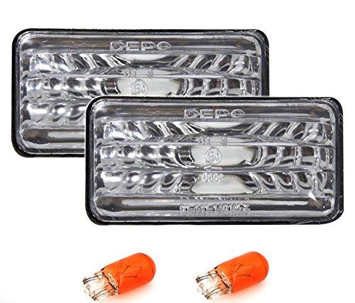 Preisvergleich Produktbild AD Tuning GmbH & Co. KG 960044 Seitenblinker Set,  Silber