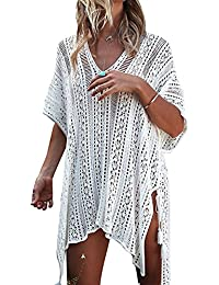 Yuson Girl Mujeres Gasa Pareos Traje De Baño Bikini Playa Manto Protector Solar Larga Vestido Cubierta