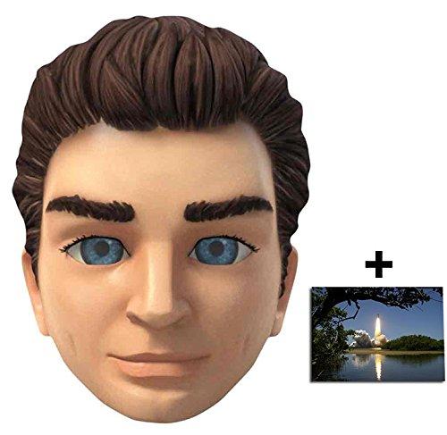 Puppet Kostüm String - Scott Tracy Thunderbirds Are Go Single Karte Partei Gesichtsmasken (Maske) Enthält 6X4 (15X10Cm) starfoto