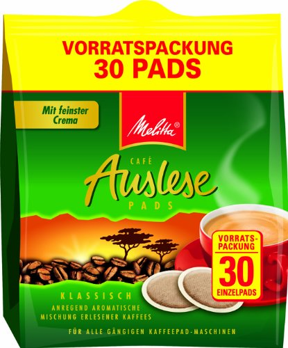 Melitta Auslese KaffeePads Klasisch für Senseo 30 Stuck
