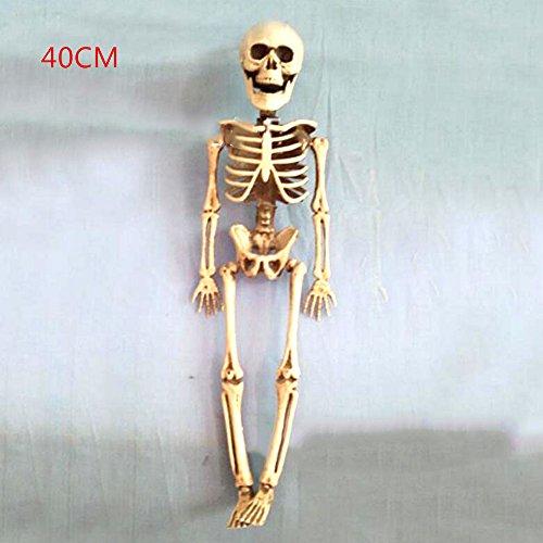 40 / 90CM Halloween Menschliches Skelett Knochen Scary Schädel-Partei Humen Skeleton Halloween-Dekor (Halloween Scary Dekor)