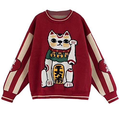 Lostryy Lose Paare Männer und Frauen Pullover/Pullover Sport Pullover/Mode Pullover/Hemd grundiert/Outdoor Reisejacke Hemd, rot