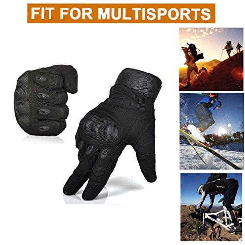 Freemaster Herren Outdoor-/Sport-Handschuhe, ganze Finger, zum arbeiten, für die Jagd und fürs Motorrad-/Radfahren, Klettern, Skilanglaufen, Handschuhe - 5