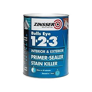Zinsser ZINBE123500 500 ml 123 Bulls Eye Primer/Sealer Paint