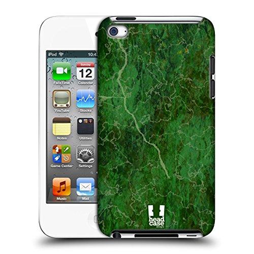 Head Case Designs Grün Marmor Drucke Harte Rueckseiten Huelle kompatibel mit Apple iPod Touch 4G 4th Gen - Grün 4 Ipod Case