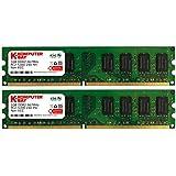 Komputerbay 2GB 2X1GB DDR2 667MHz PC2-5300 PC2-5400 DDR2 667 (240 PIN) DIMM Desktop-Speicher