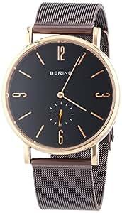 Bering Time - 53739-262 - Montre Homme - Quartz Analogique - Bracelet Acier Inoxydable Noir