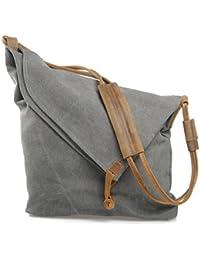 Estarer Men / Women Canvas Messenger Bag Cross Body Travel Shoulder Bag