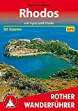 Rhodos mit Symi und Chalki: 50 Touren. Mit GPS-Tracks. (Rother Wanderführer) - Sara von Eitzen