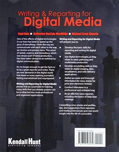 Writing & Reporting for Digital Media