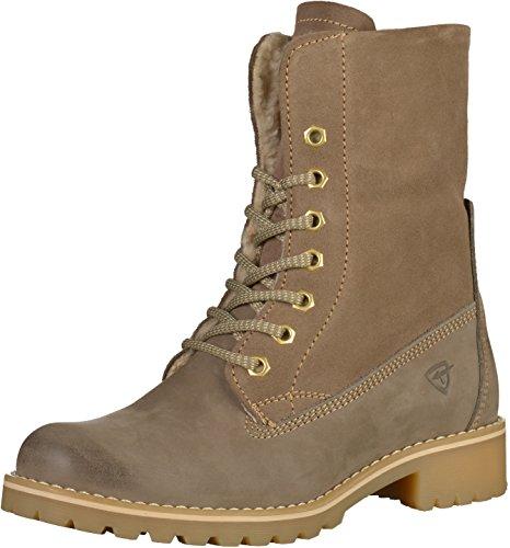 Taupe Damen Boots Tamaris 264 Combat O8qvpp6xw