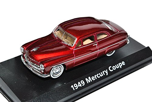 Ford Mercury Coupe 1949 Rot 1/43 Motormax Modell Auto (Mercury Motoren)