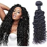"""Puddinghair 100% de las extensiones virginales brasileñas del pelo humano de la onda profunda 3 paquetes (30""""30""""30"""")"""