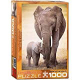 Eurographics Puzzle 1000 Teile - Elefant mit Baby - 00270