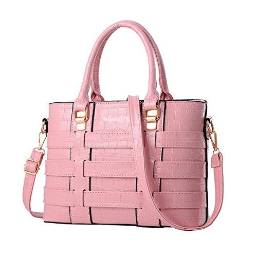 Sacchetto Di Spalla Di Modo Del Twill Della Borsa Delle Donne Pink