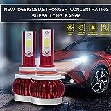 zhuhaihongyekuntai Auto führte helles Licht der kühlen Birne Auto führte das Scheinwerferinstallationssatz, der Birnenlampen fährt, arbeiten Fernlichtabblendlicht im Freien um