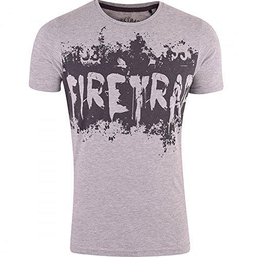 Firetrap Herren T-Shirt Grau