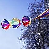 vipasnam-62Rainbow Wind Spinner Windsack Kite Schwanz Colorful für Garten-Yard im Kid
