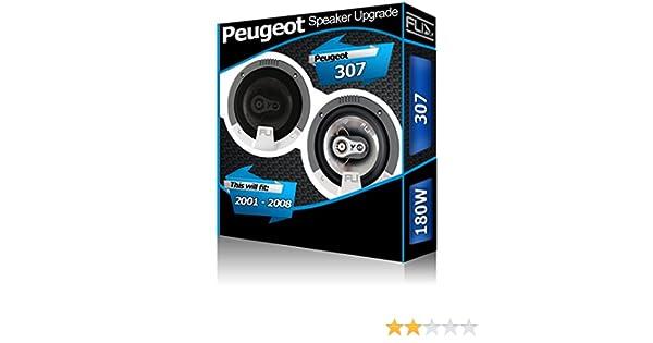 FLI Peugeot 307/Porta Posteriore 13,3/cm 13/cm Altoparlanti Auto Kit 180/W