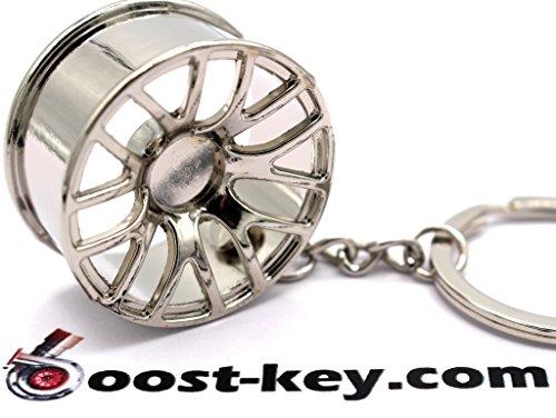 BBS CHR Style Chrom Felge Schlüsselanhänger - massiver Anhänger OEM VAG DUB - von VmG-Store