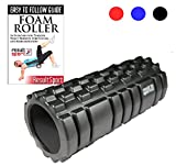 ResultSport® Foam Roller Trigger Point Ultra Lightweight Hollow Core, Textured Grid Designed For Muscle and Back Massage, Use for Yoga Exercise or Physical Therapy, Myofascial Release, Deep Tissue Relief