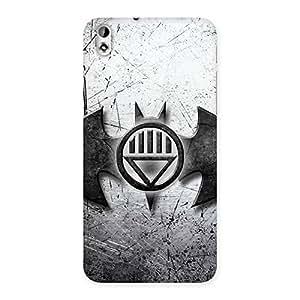 Impressive Black Knight Shade Back Case Cover for HTC Desire 816g