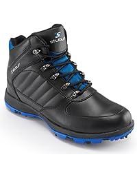 Stuburt Mens Cyclone Boot Mens Black/Blue 12 Regular Fit Mens Black/Blue 12 Regular Fit