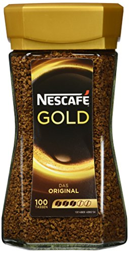 Nescafé Gold Original, Löslicher Kaffee, 200g Glas