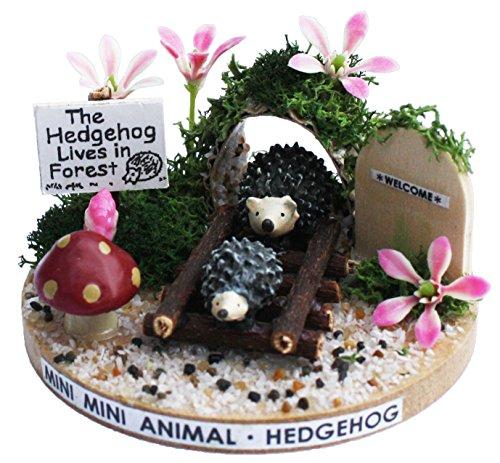 Billy handmade dollhouse kit kit mini mini animal hedgehog 3129 (japan import)
