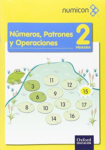 Numicon 2.º Primaria. Números Patrones. Cuaderno De Ejercicios 1 - 9788467392654