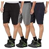 Trillion Men's Cotton Shorts Combo Pack of 3