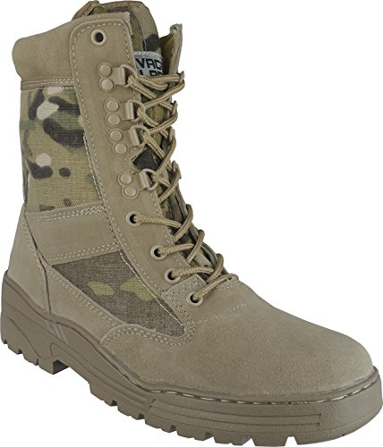 Savage Island Desert Camo Army Combat Patrol Tactical Boots Military