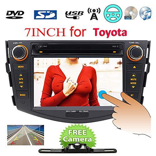 """7"""" 2DIN in Dash HD Kapazitive Touchscreen Schrecken 6.0 Auto DVD GPS Navigation für Toyota RAV4 2006 2007 2008 2009 2011 PC CD DVD Player Auto Bluetooth Radio Video Stereo Audio USB RDS BT"""