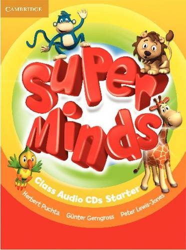 Super Minds Starter Class Audio CDs (2) - 9780521214346