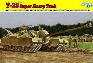 United States Army T-28 Super Heavy Tank (Plastic model)