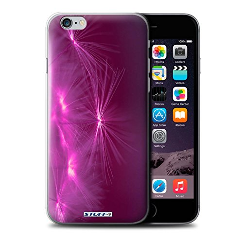 Stuff4 Hülle / Case für Apple iPhone 7 Plus / Gelb Muster / Life Light Kollektion Rosa