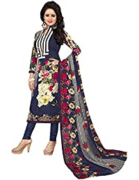 Taboody Empire Latest Running Designer Navy Blue Cotton Printed Attractive Straight Salwar Suit For Girls And...