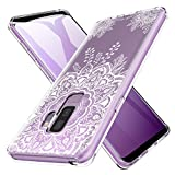 K&L LK Hülle für Galaxy S9 Plus, Ultra Schlank Dünn TPU Gel Gummi Weiche Haut Silikon Schutzhülle Abdeckung Case für Samsung Galaxy S9 Plus (Blume)