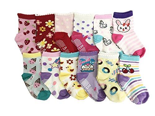 JT-Amigo JT-Amigo 12er Pack Baby ABS Antirutsch Socken