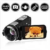 Videocamera Telecamera videocamara full HD 1080p 24.0MP con telecomando con copriobiettivo