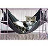 Cat Pet Käfig Hängematte, PET Aufhängen Bett atmungsaktives Mesh 2in 1Sommer & Winter Hängematte Bett Matte für Frettchen Katze Little Animal.