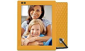 NIXPLAY Seed Marco Digital Wi-Fi 8 pulgadas W08D Mango. Aplicación Móvil y Web para Envios instantaneos al Marco Electrónico. Integración con Redes Sociales. Portafotos Digital con Sensor de Movimiento