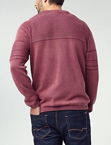 Pioneer Herren V Neck Pullover Rot (Spice Red 808)