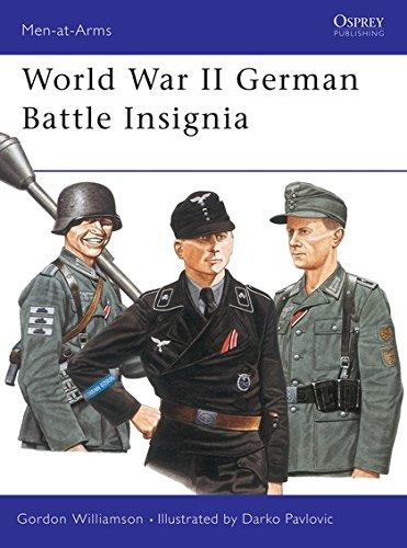 World War II German Battle Insignia (Men-at-Arms) por Gordon Williamson