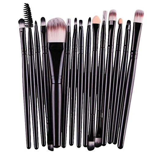 Profesional Set de Brochas de Maquillaje Cepillos de Maquillaje para las Facial y Labios por ESAILQ S