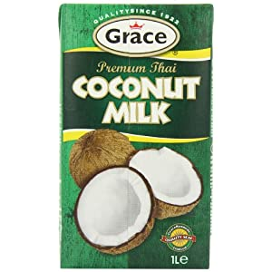 Grace Premium Coconut Milk 1 Litre (Pack of 12) 24